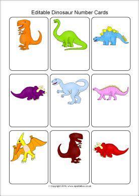 editable printable number cards editable dinosaur number cards template sb10239