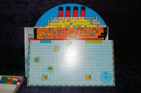 No Thanks Board Original Boardgame 1976 ideal sinking of the titanic board ebay