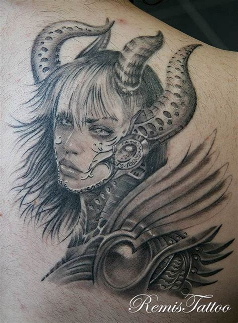tattoo girl warrior remistattoo com gallery tattoo gallery black and