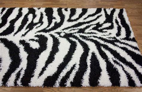zebra print rugs zebra print shag rug best decor things