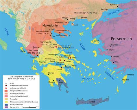 Die Grenzen Des Antiken Griechenland Aus Sicht Der