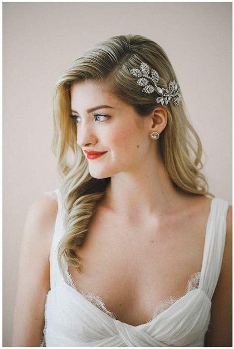 Modern Wedding Hair With Veil by Modern Wedding Modern Wedding Veils Headpieces