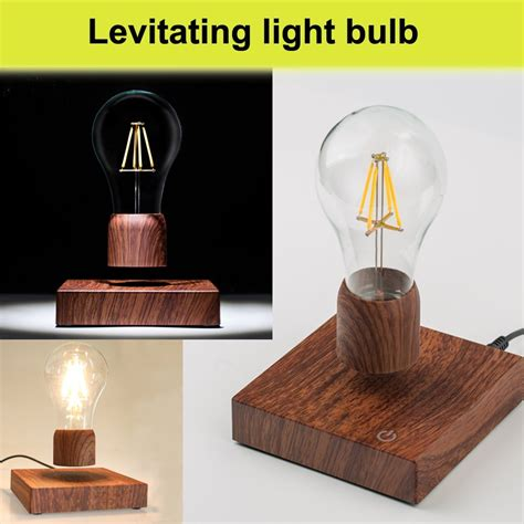 floating light bulb vgazer magnetic levitating floating wireless led light
