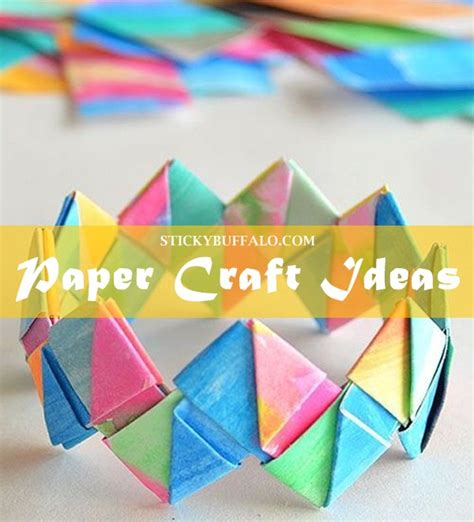 Creative Crafts With Paper - creative paper craft ideas 30 picked