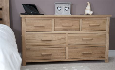melbourne oak 7 drawer multi chest the furniture workshoppe