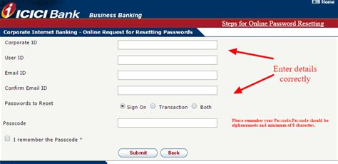reset online banking password bmo icici bank online banking login cc bank