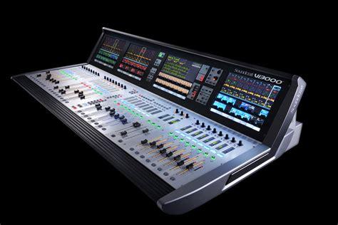Mixer Digital Soundcraft musikmesse soundcraft vi3000 mixer news