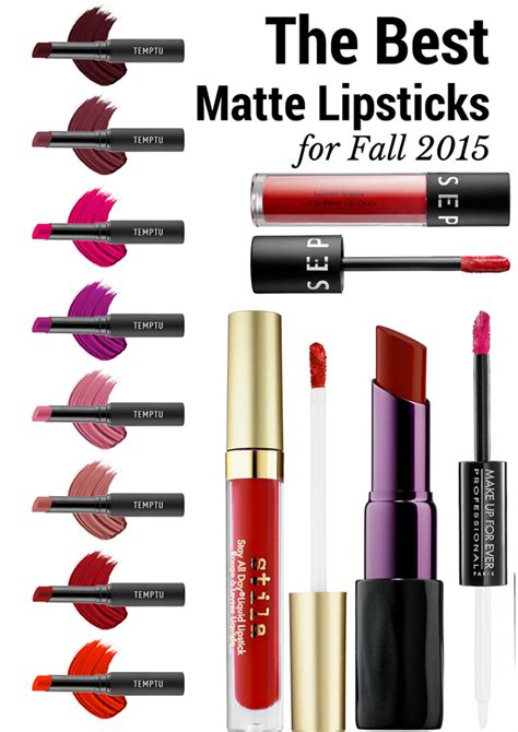 best matte lipsticks the best matte lipsticks for fall 2015 musings of a muse