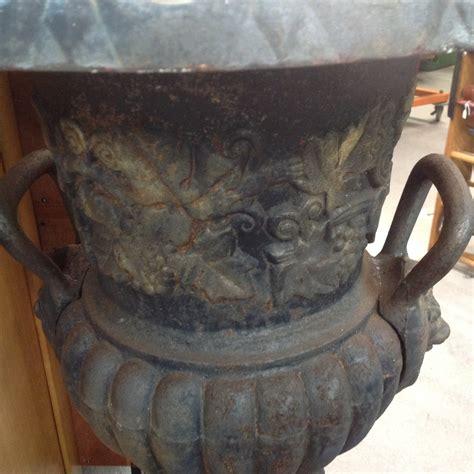 head planter pots for sale set of 2 lions head cast iron urns planters for sale