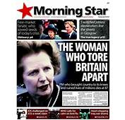 Anorak  Margaret Thatcher's Death The Newspapers Front Pages