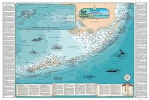 florida reefs and wrecks map florida shipwreck chart nautical chart print map ebay