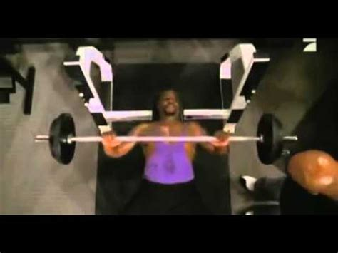 terry crews bench press terry crews funny work out mp4 youtube