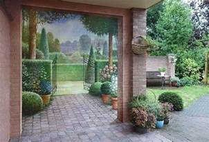 exterior wall decor amazing painting ideas for brick walls creating optical