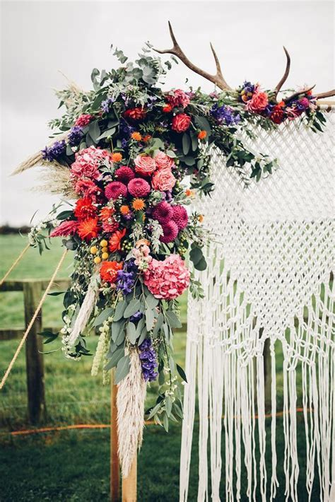 Wedding Arch Measurements by 25 Best Ideas About Bohemian Wedding Decorations On