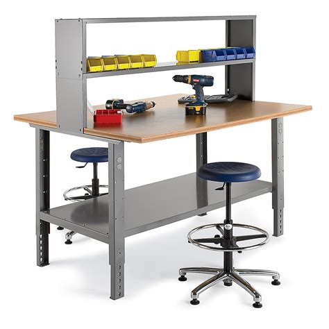 assembly bench relius solutions 48 deep work and assembly bench 60x48 top bench only medium gray