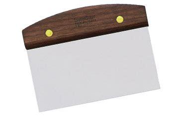 best bench scraper bench knife by lamsonsharp walnut handle breadtopia