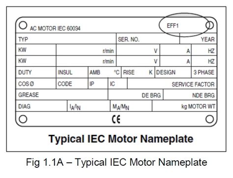 3 phase induction motor nameplate details power systems loss electric motor nameplate specifications