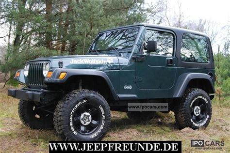Jeep 4 0 Ho Specs 2002 Jeep Wrangler Tj 4 0l Ho Outdoor Car Photo And