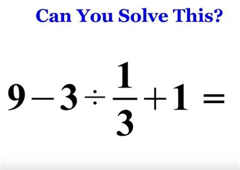 preguntas imposibles de resolver si usas la calculadora para resolver este problema puede