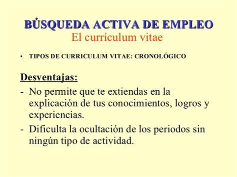 Ventajas Y Desventajas Modelo Curricular De bae el curriculum vitae