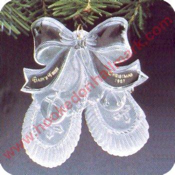 1987 babys first christmas acrylic mib