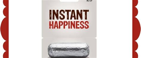 Chipotle Gift Card - win 25 chipotle gift card in this quick giveaway