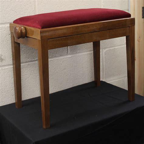 Walnut Piano Stool by Gloss Walnut Piano Stool Piano Services