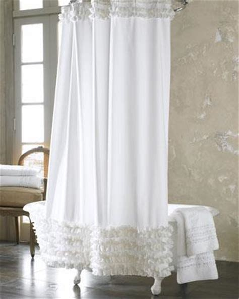 neiman marcus shower curtains ruffled shower curtain neiman marcus