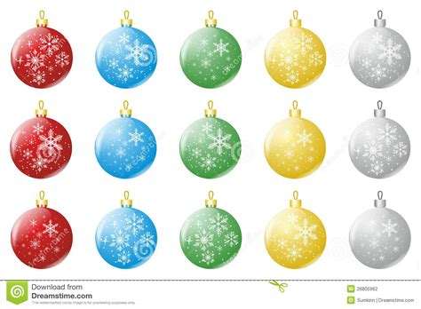 christmas bubbles stock photography image 26805962