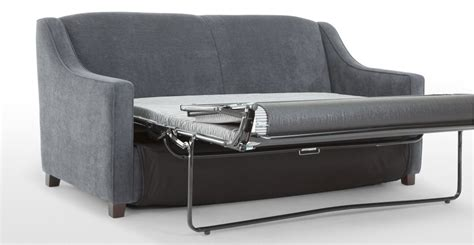 let out sofa bed halston sofa bed in dusk grey made com