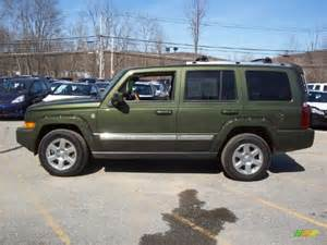 Jeep Green Metallic Jeep Green Metallic 2007 Jeep Commander Overland 4x4