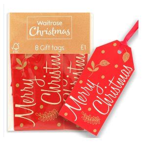 waitrose christmas wishes gift tags waitrose