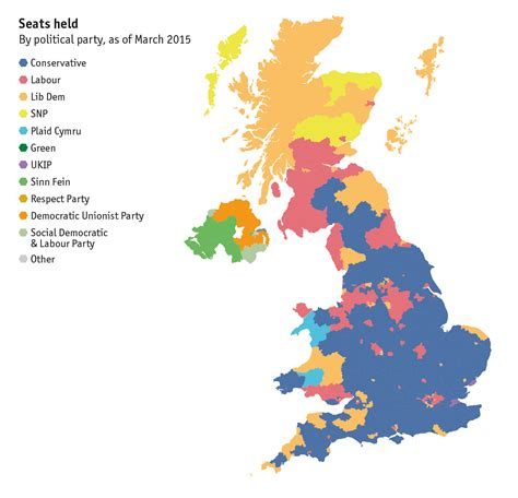 2015 uk election map uk general election 2015 map of britain constituency