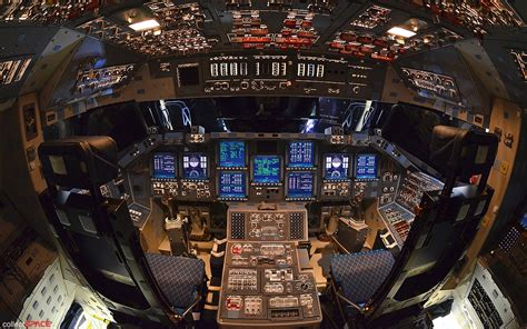 Interior Space Shuttle by Nasa Powered Endeavor
