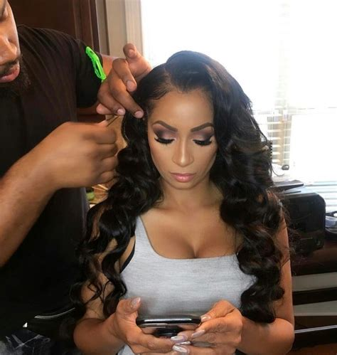 sew in wedding styles best 25 hair laid ideas on pinterest sew in straight