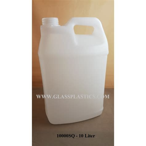Porta Jar 10 Liter square hdpe container 10 liter glass plastic packaging sdn bhd