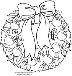 free coloring pages of wreaths