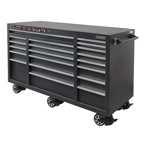 trojan tool chest and cabinet set trojan 1850 x 610 x 1120mm tool trolley charlee s