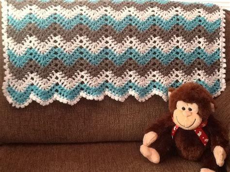 new crochet pattern for baby chevron blanket crochet baby unisex chevron ripple baby crochet blanket afghan