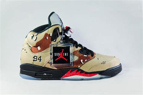 air jordan retro  supreme camo nojo kicks detroit