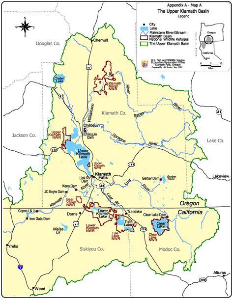 map of klamath oregon es473 573 environmental geology