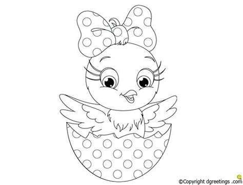 coloring page word girl baby chick coloring page free printable pages