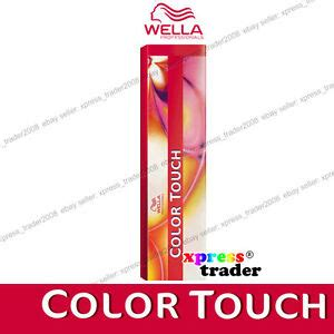 wella color touch semi permanent tint dye hair color 60ml ebay wella color touch semi permanent hair dye 60ml