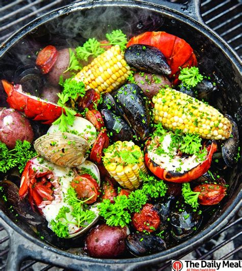 backyard clambake backyard clambake on your grill recipe
