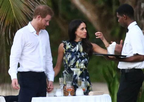 prince harry and meghan markle called perfect couple by prince harry and meghan markle very much together at