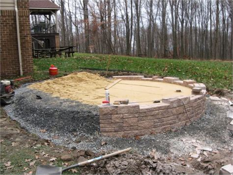 laying pavers concrete patio laying patio pavers slope patios home decorating ideas