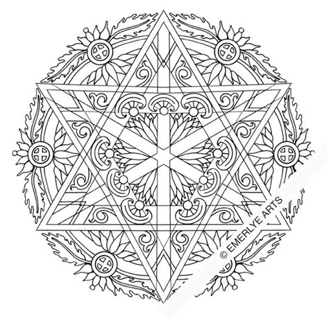 hanukkah mandala coloring pages 8 of the best most artful hanukkah coloring pages