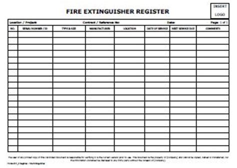 extinguisher certificate template register extinguisher allsafety management services