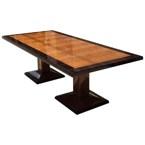 double pedestal dining room table double pedestal dining table for sale at 1stdibs