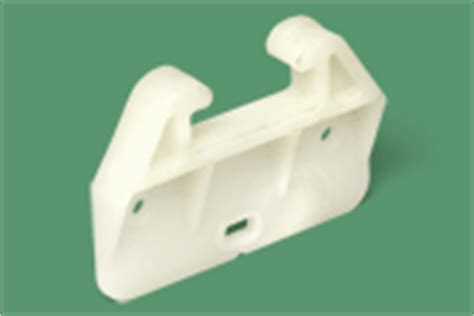 Replacement Drawer Guides by Plastic Drawer Glides For A Simmons 2441 Dresser Swisco
